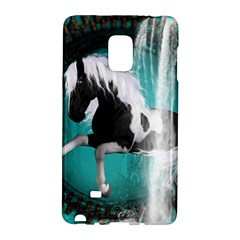 Beautiful Horse With Water Splash  Galaxy Note Edge by FantasyWorld7