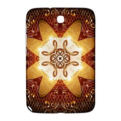 Elegant, Decorative Kaleidoskop In Gold And Red Samsung Galaxy Note 8 0 N5100 Hardshell Case  by FantasyWorld7
