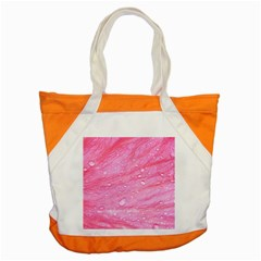 Pink Accent Tote Bag  by timelessartoncanvas