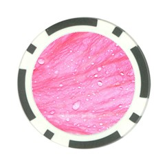 Pink Poker Chip Card Guards by timelessartoncanvas