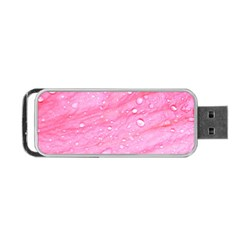 Pink Portable Usb Flash (two Sides) by timelessartoncanvas