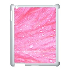 Pink Apple Ipad 3/4 Case (white) by timelessartoncanvas