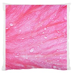 Pink Standard Flano Cushion Cases (one Side)  by timelessartoncanvas