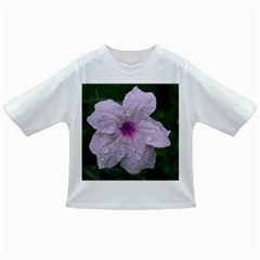 Pink Purple Flowers Infant/toddler T Shirts by timelessartoncanvas
