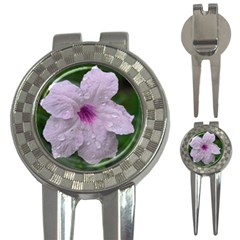 Pink Purple Flowers 3 In 1 Golf Divots by timelessartoncanvas