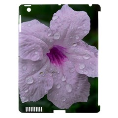 Pink Purple Flowers Apple Ipad 3/4 Hardshell Case (compatible With Smart Cover) by timelessartoncanvas