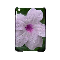Pink Purple Flowers Ipad Mini 2 Hardshell Cases by timelessartoncanvas
