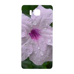 Pink Purple Flowers Samsung Galaxy Alpha Hardshell Back Case by timelessartoncanvas