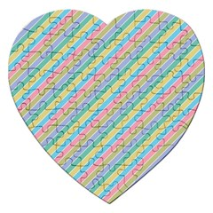 Stripes 2015 0401 Jigsaw Puzzle (heart) by JAMFoto