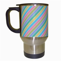 Stripes 2015 0401 Travel Mugs (white) by JAMFoto