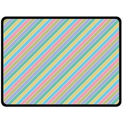 Stripes 2015 0401 Double Sided Fleece Blanket (large)