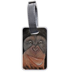 Menschen   Interesting Species! Luggage Tags (one Side)  by timelessartoncanvas