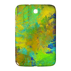 Abstract In Blue, Green, Copper, And Gold Samsung Galaxy Note 8 0 N5100 Hardshell Case  by theunrulyartist