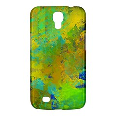 Abstract In Blue, Green, Copper, And Gold Samsung Galaxy Mega 6 3  I9200 Hardshell Case by digitaldivadesigns