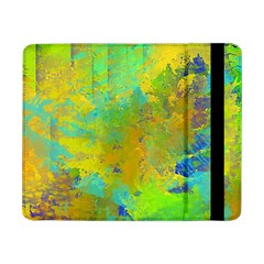 Abstract In Blue, Green, Copper, And Gold Samsung Galaxy Tab Pro 8 4  Flip Case by theunrulyartist
