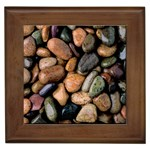 Pebbles1-1 Framed Tile