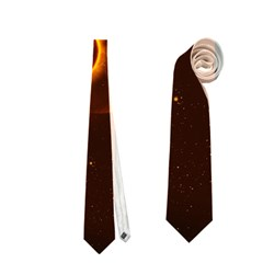 Fire And Flames In The Universe Neckties (one Side)