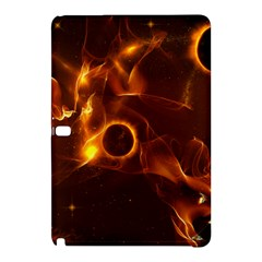 Fire And Flames In The Universe Samsung Galaxy Tab Pro 10 1 Hardshell Case by FantasyWorld7