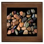 Pebbles01 Framed Tile