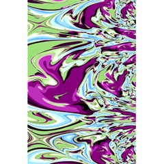 Purple, Green, And Blue Abstract 5 5  X 8 5  Notebooks by theunrulyartist