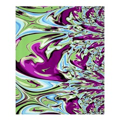 Purple, Green, And Blue Abstract Shower Curtain 60  X 72  (medium)  by theunrulyartist