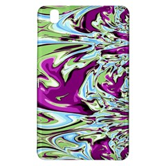 Purple, Green, and Blue Abstract Samsung Galaxy Tab Pro 8.4 Hardshell Case by theunrulyartist