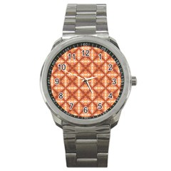 Cute Pattern Gifts Sport Metal Watches by creativemom