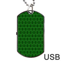 Cute Pattern Gifts Dog Tag Usb Flash (two Sides)