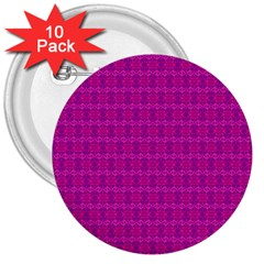 Cute Pattern Gifts 3  Buttons (10 Pack)  by creativemom