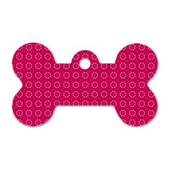 Cute Pattern Gifts Dog Tag Bone (two Sides) by creativemom