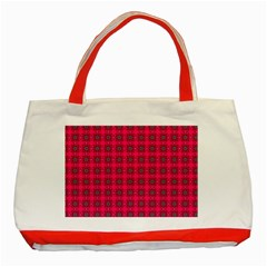 Cute Pattern Gifts Classic Tote Bag (red)  by creativemom
