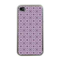 Cute Pattern Gifts Apple Iphone 4 Case (clear) by creativemom