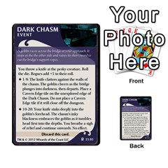 Lod Room Event Deck 1 (full) By Nathan   Multi Purpose Cards (rectangle)   Kqugx9bvaw3m   Www Artscow Com Front 23