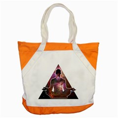 Deep Meditation #2 Accent Tote Bag  by Lab80