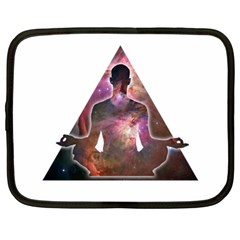 Deep Meditation #2 Netbook Case (large)	 by Lab80