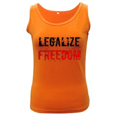 Legalize Freedom Women s Dark Tank Tops by Lab80