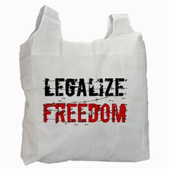 Legalize Freedom Recycle Bag (one Side) by Lab80