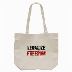 Legalize Freedom Tote Bag (cream)  by Lab80