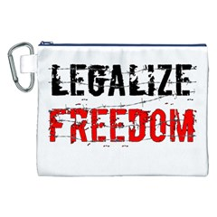 Legalize Freedom Canvas Cosmetic Bag (xxl)  by Lab80