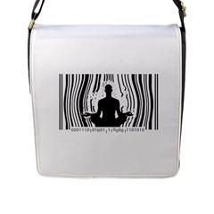 Break Free ! Flap Messenger Bag (l)  by Lab80