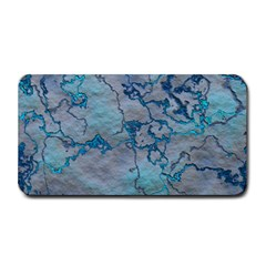 Marbled Lava Blue Medium Bar Mats by MoreColorsinLife