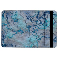 Marbled Lava Blue Ipad Air 2 Flip by MoreColorsinLife