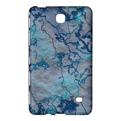 Marbled Lava Blue Samsung Galaxy Tab 4 (8 ) Hardshell Case  by MoreColorsinLife