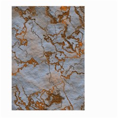 Marbled Lava Orange Large Garden Flag (two Sides) by MoreColorsinLife