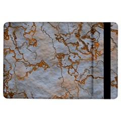 Marbled Lava Orange Ipad Air Flip by MoreColorsinLife