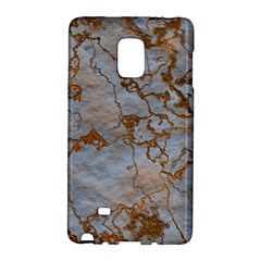 Marbled Lava Orange Galaxy Note Edge by MoreColorsinLife