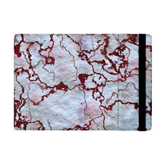 Marbled Lava Red Ipad Mini 2 Flip Cases by MoreColorsinLife