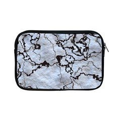 Marbled Lava White Black Apple Ipad Mini Zipper Cases by MoreColorsinLife