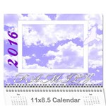 2016 Family quotes calendar - Wall Calendar 11  x 8.5  (12-Months)
