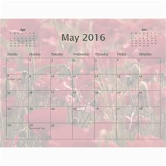 2016 Family Quotes Calendar By Galya   Wall Calendar 11  X 8 5  (12 Months)   Cvb8veovl4pg   Www Artscow Com May 2016